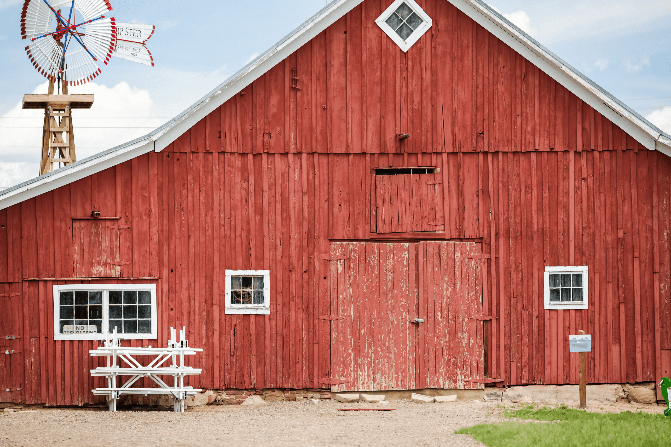 Ever Wonder Why: Red is the traditional color for barns?