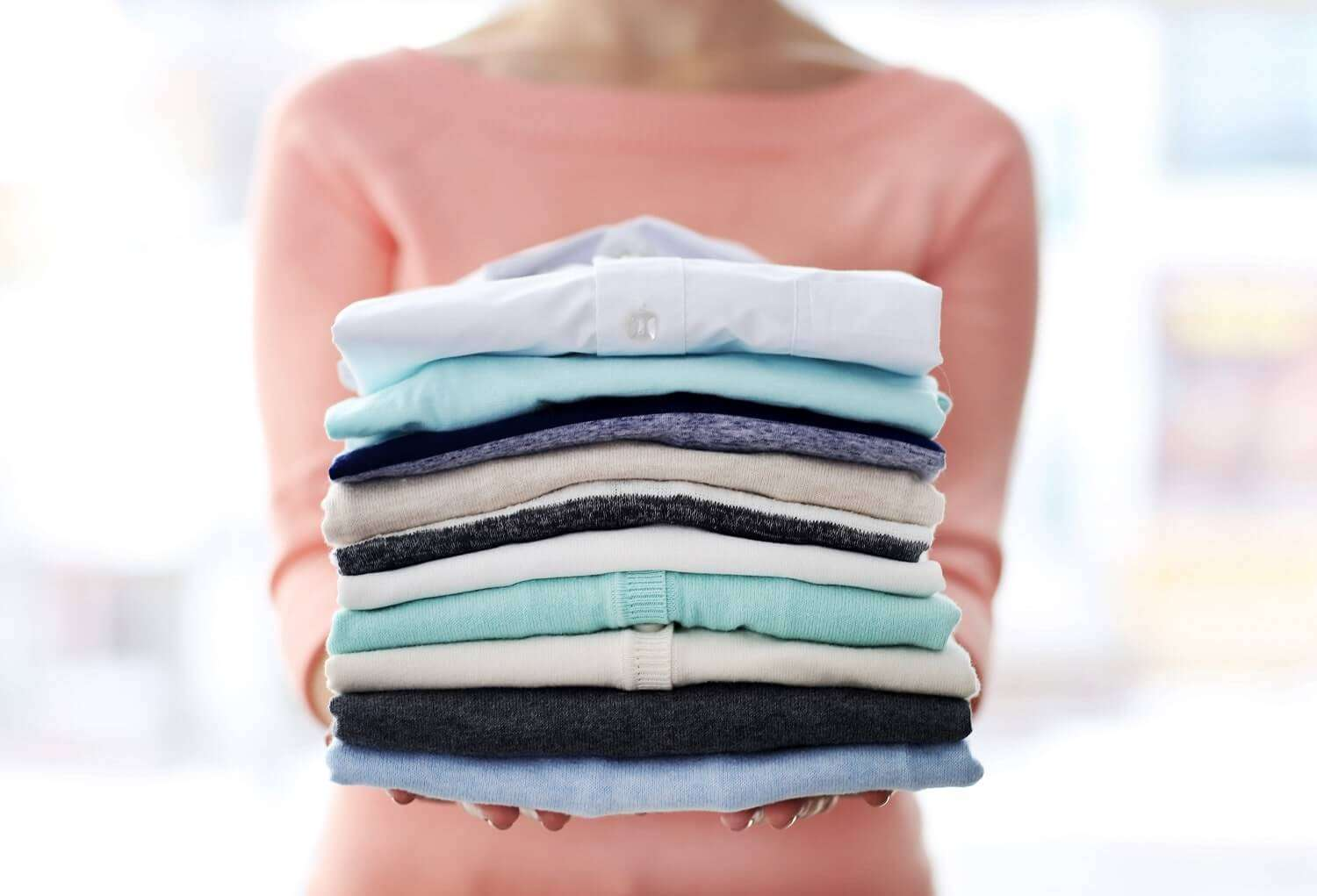 picture of laundry fluff and fold los angeles delivery